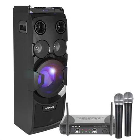 Paket med Partystation och trådlösa mikrofoner b89cc942c9194