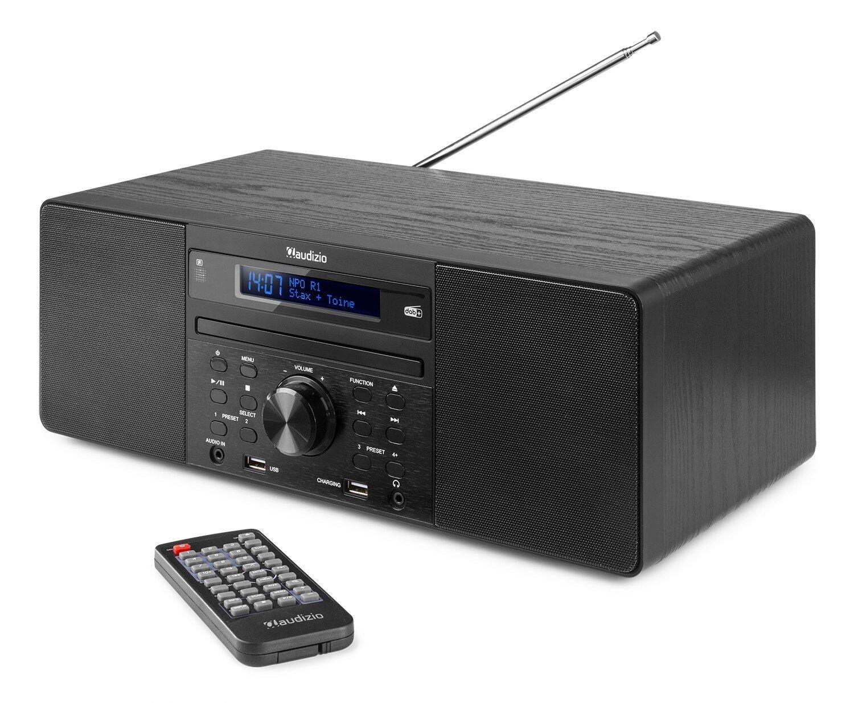 Audizio PRATO MUSIK SYSTEM CD/DAB+ BLACK