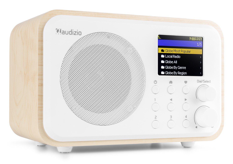 Audizio Venice WIFI Internet radio med batter, vit
