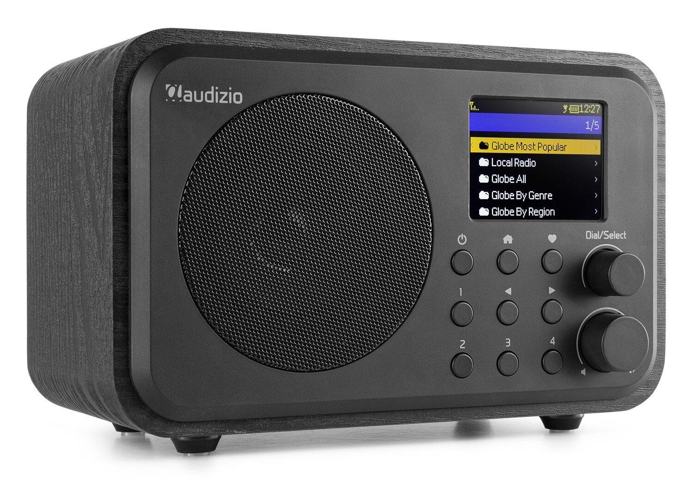 Audizio Venice WIFI Internet radio, med batteri, svart