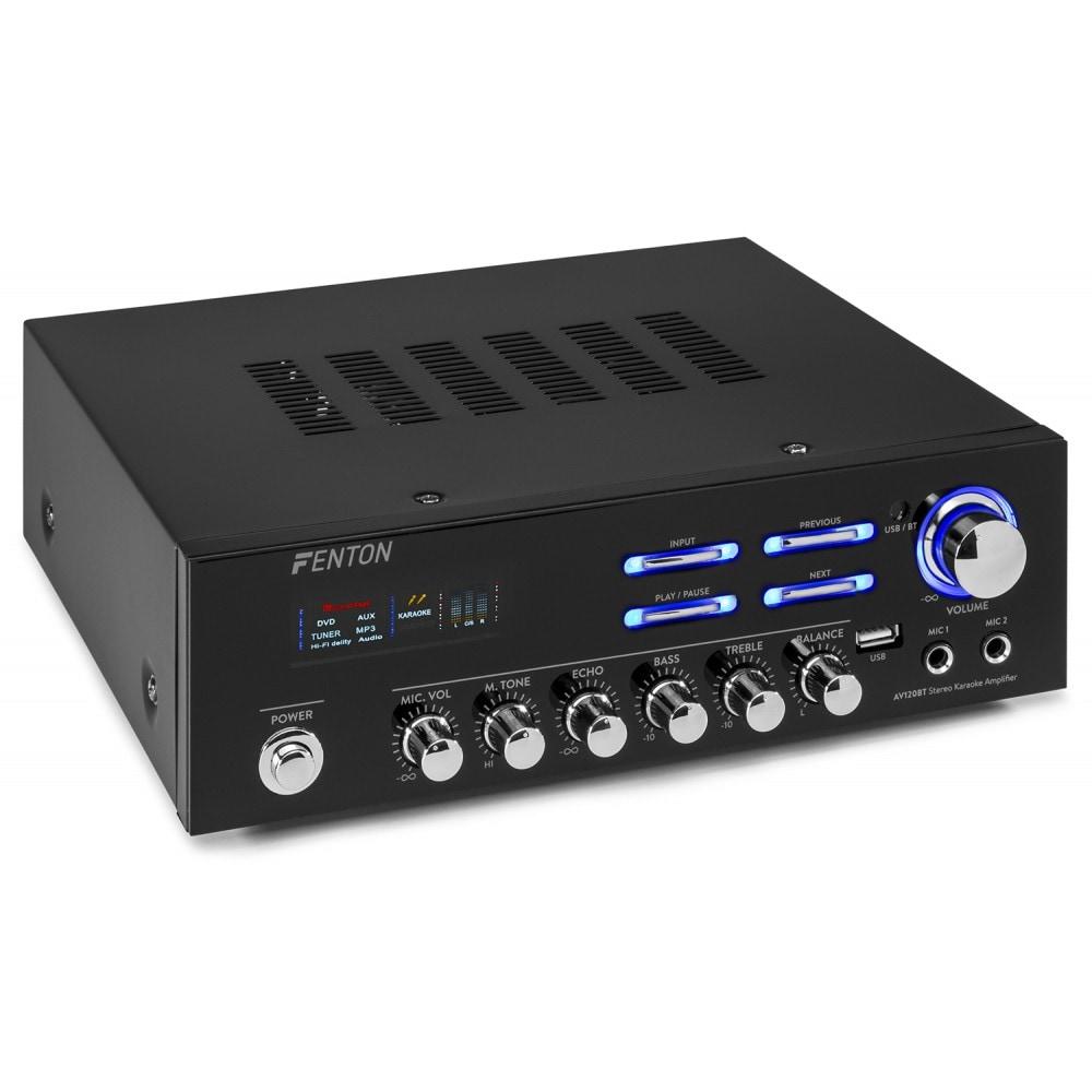 Fenton AV120BT Stereo Hifi förstärkare