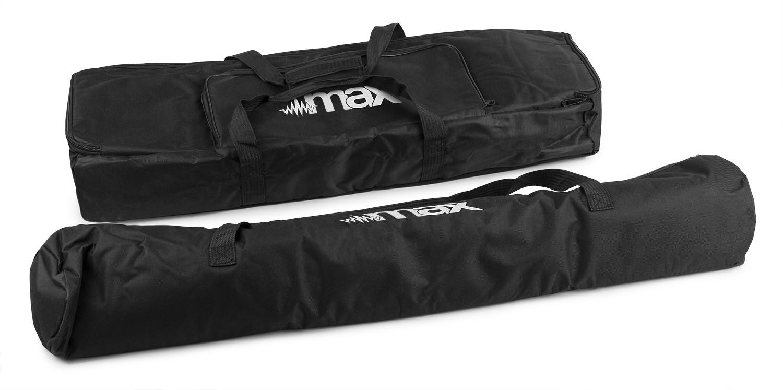 MAX AC150 PartyBar Softcase Set
