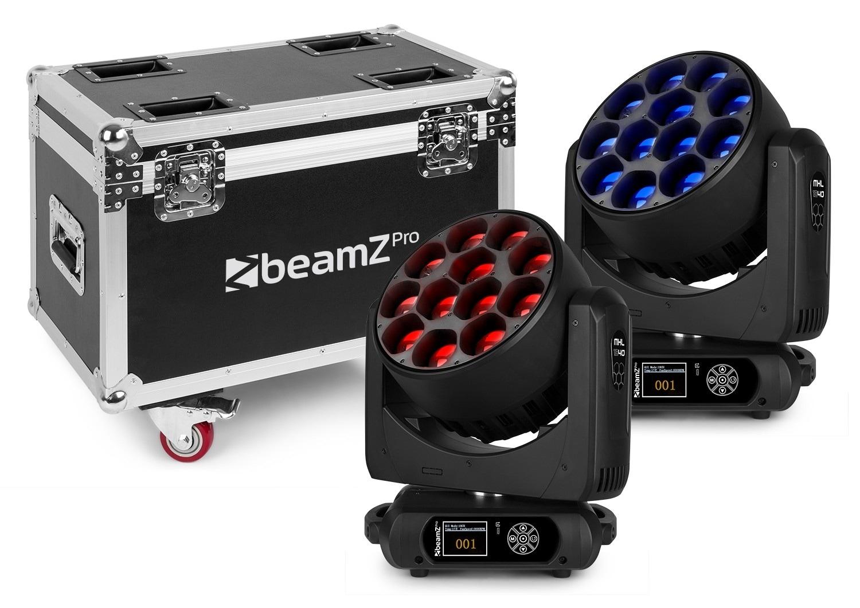 BeamZPro MHL1240 Mov Head Zoom 12x40W 2p FC