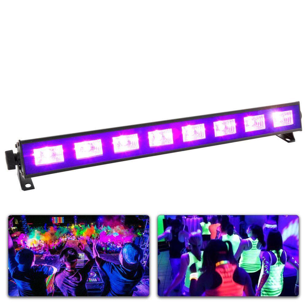 BeamZ BUV83 LED bar 8x3W UV
