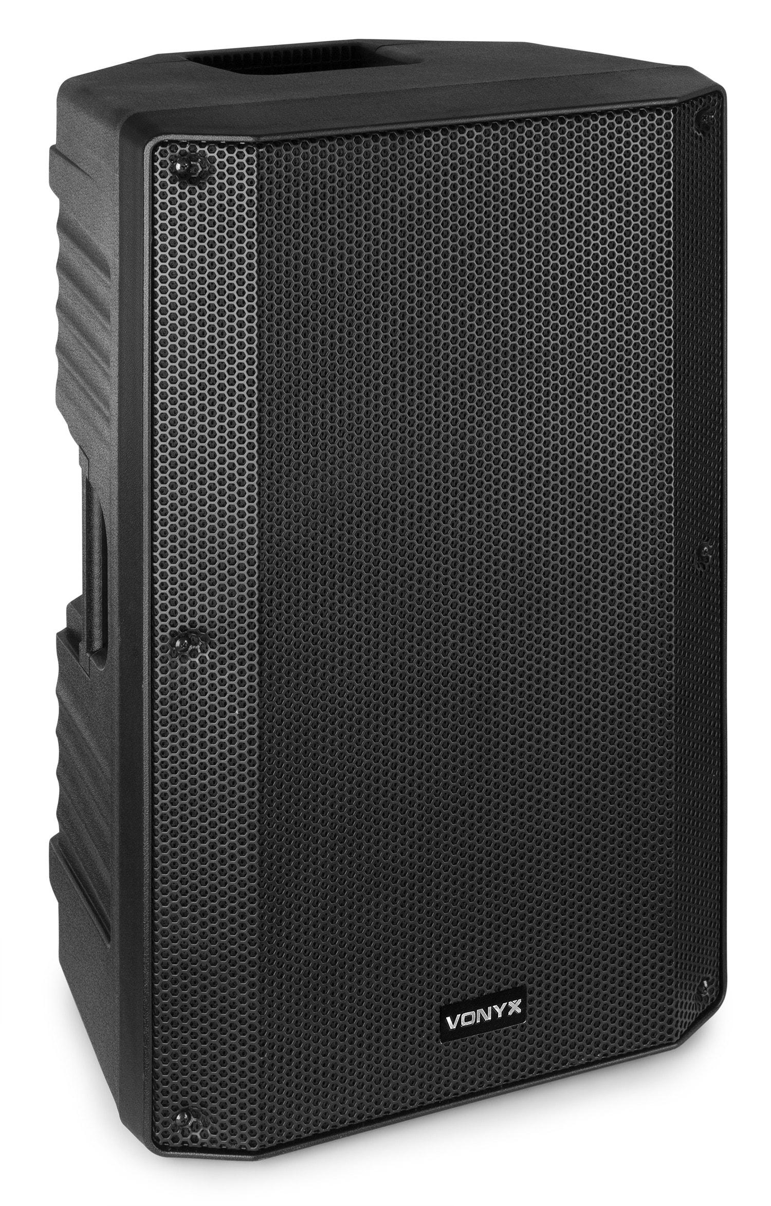 """Vonyx VSA12BT Aktiv högtalare med 2 slutsteg, 12"""" 800W BT/MP3"""