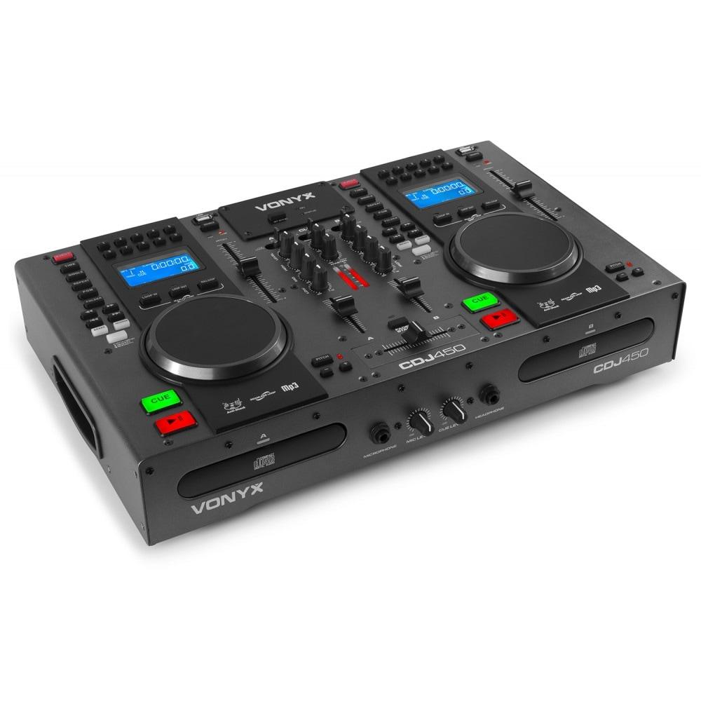 Vonyx CDJ450 DubbelCD/MP3/USB, BT