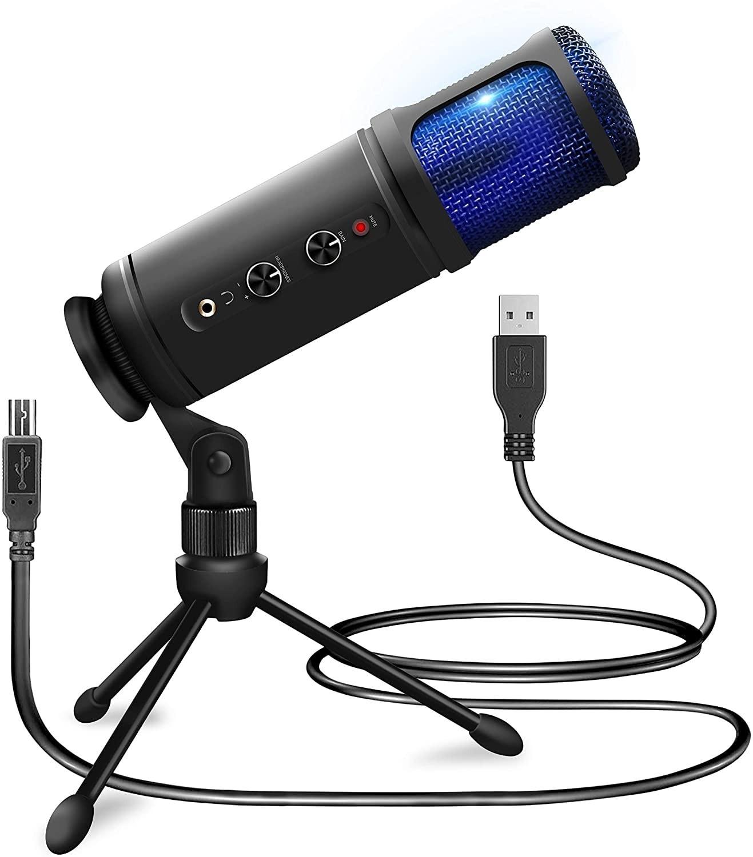 PD PCM120 kondensatormikrofon sats med usb