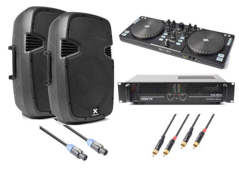 Vonyx SPJ-1200 Ljudpaket för DJ