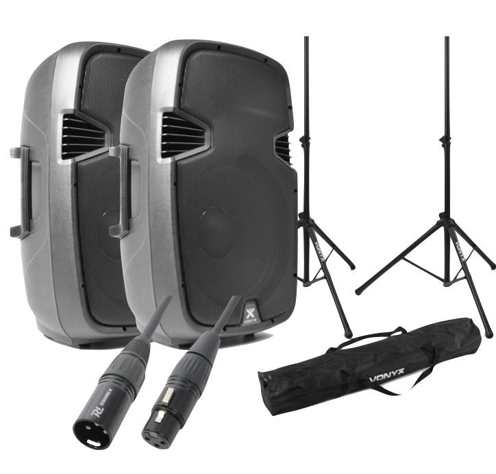 Hemmafestpaket med bluetooth högtalare och stativ