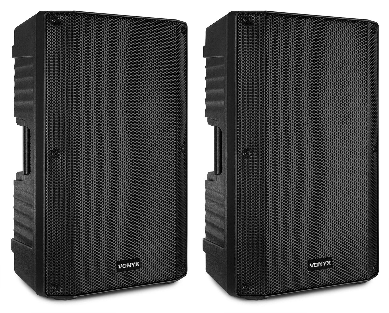 """Vonyx VSA150S Aktiva högtalarset, 15"""""""