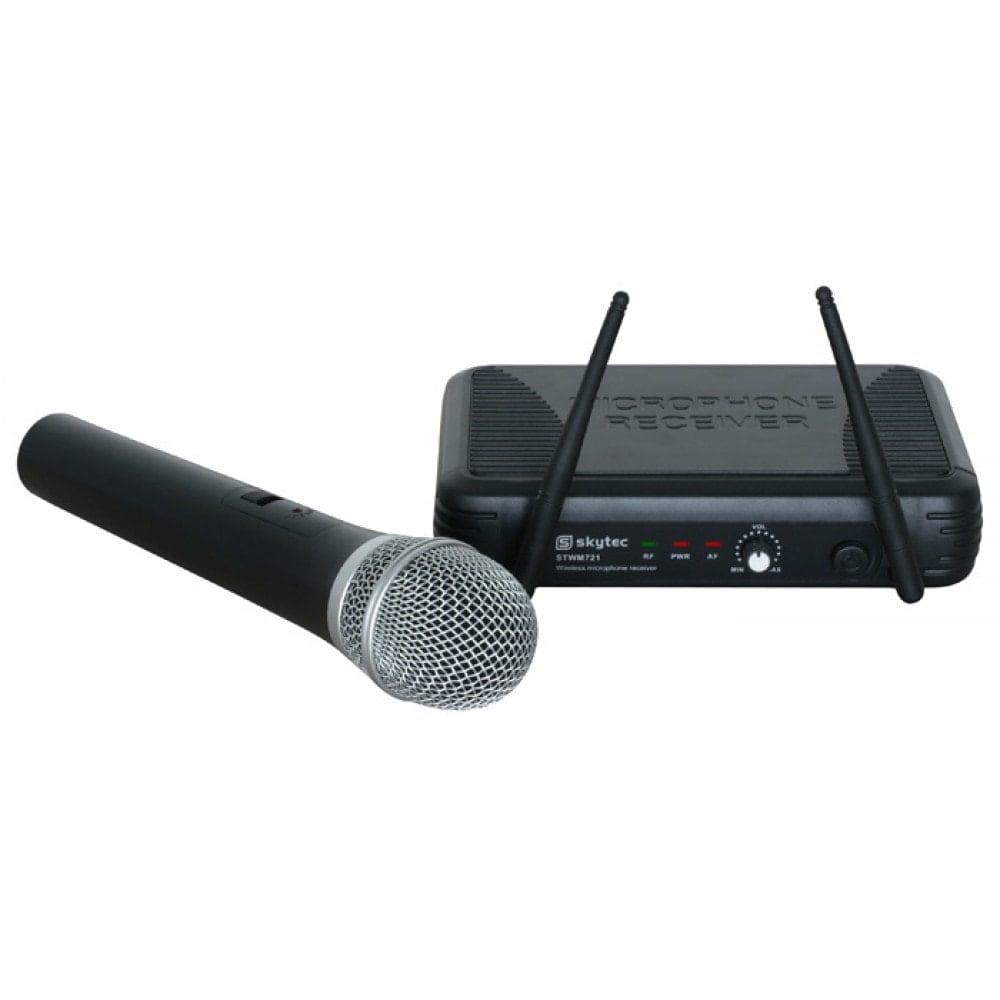 SkyTec STWM721 Trådlös mikrofon UHF 1kanal