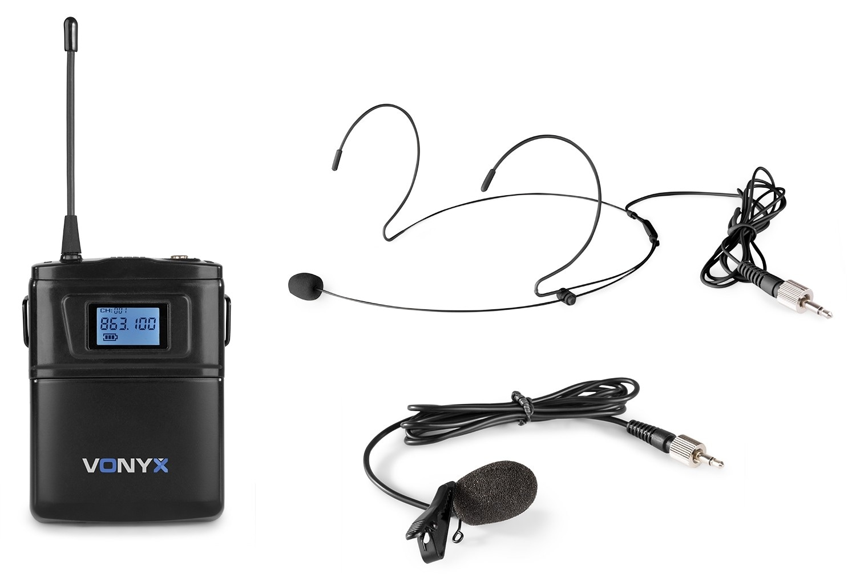 Vonyx WM60B Bodypack +Heads. WM6 series