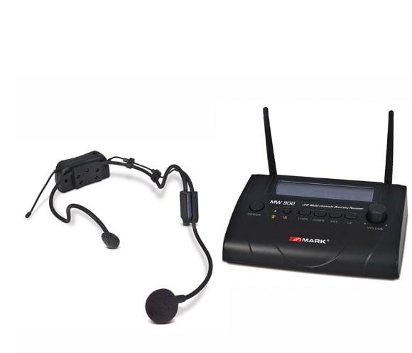 Mark/Work Trådlöst Headset MW900/2
