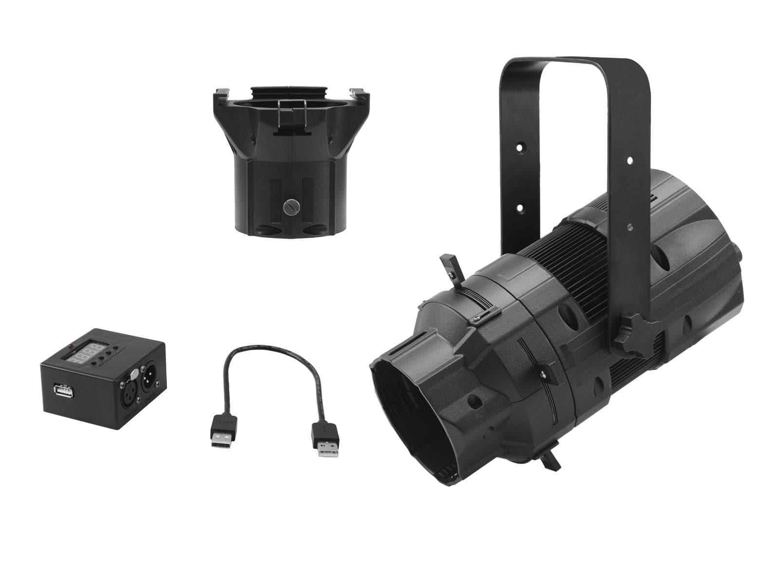 EUROLITE Set LED PFE-50 + Lens tube 36° + DMX Interface
