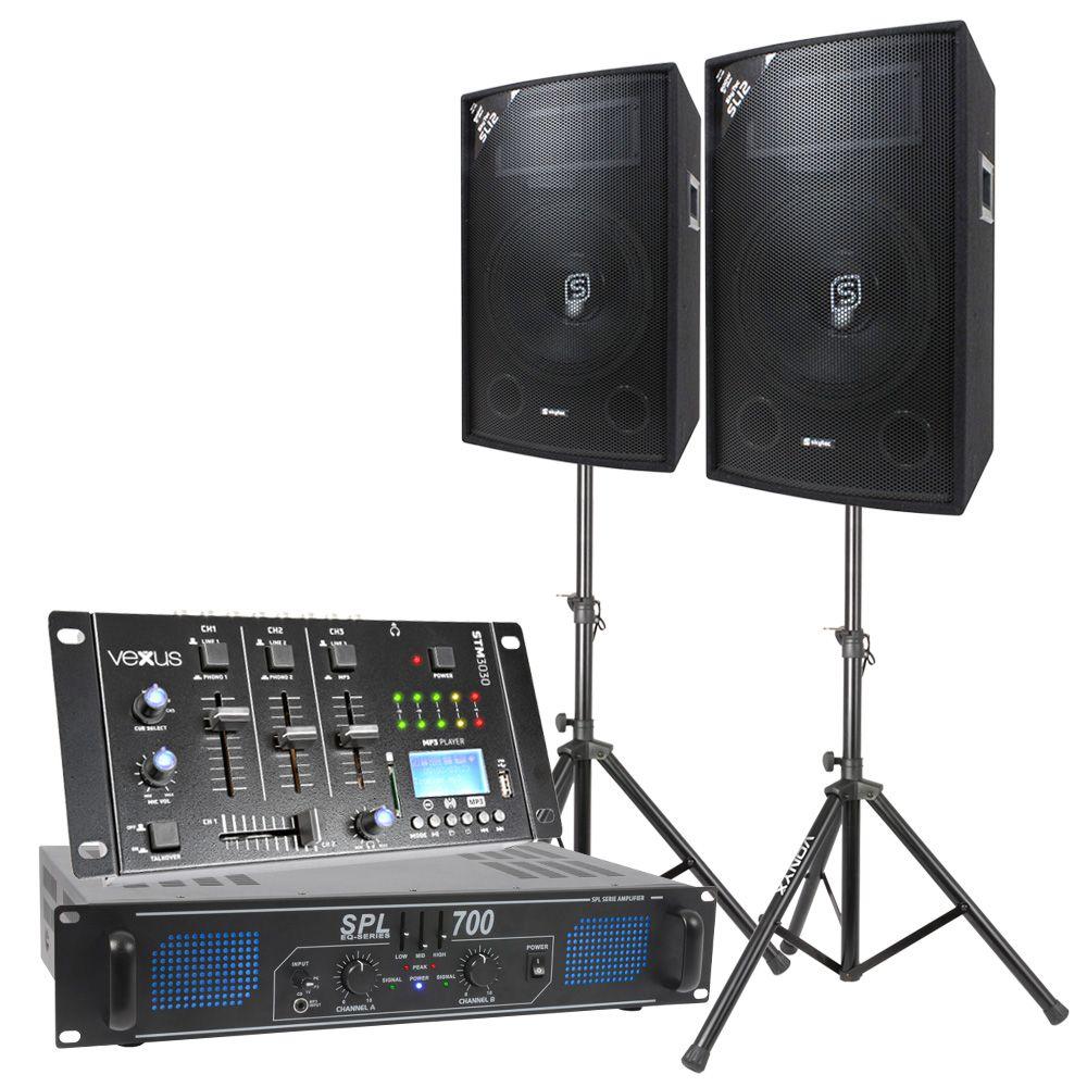 Komplett Ljudpaket för DJ