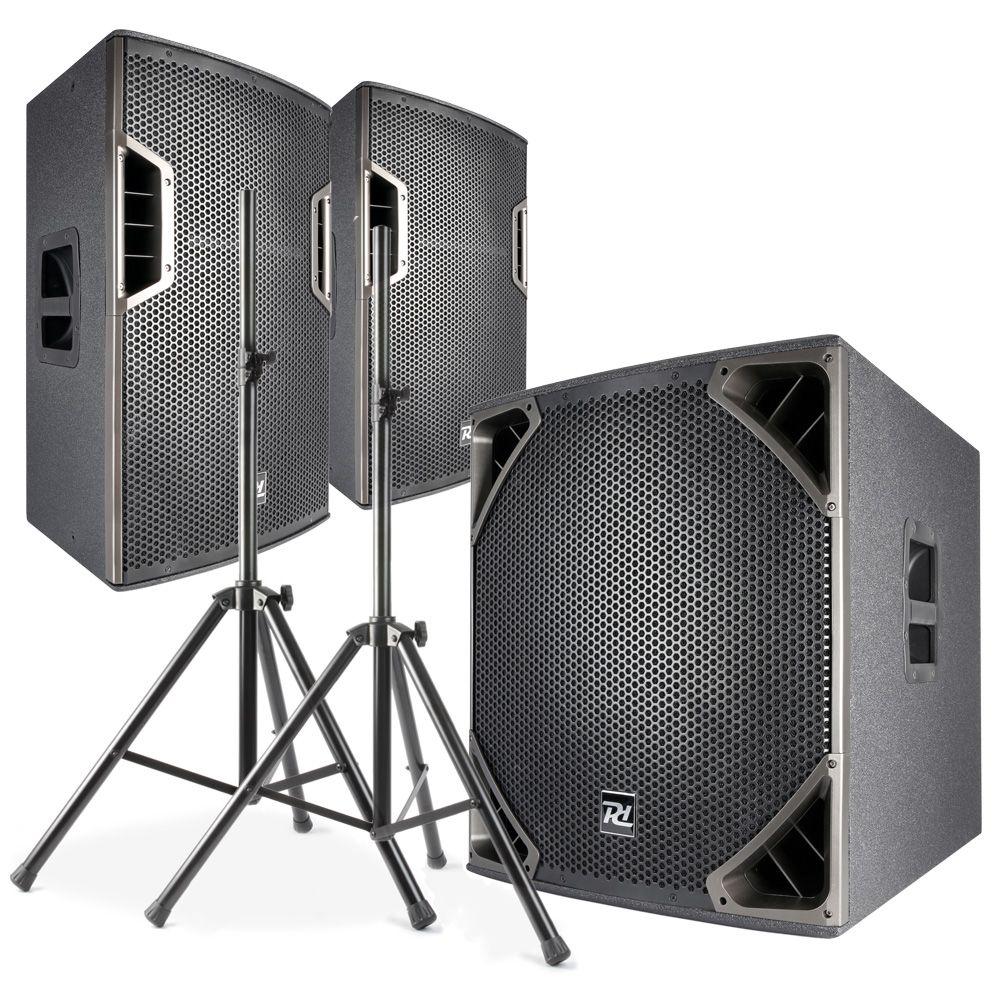 Power Dynamics Professionellt ljudpaket PD6-serien