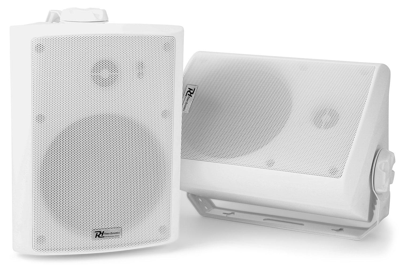 "Power Dynamics WS50A Högtalarset/2st, 5""IPX5 Wifi+BT Wh"