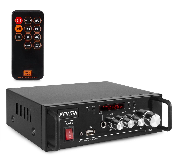 Fenton AV344 Karaoke förstärkare, MP3 med batter