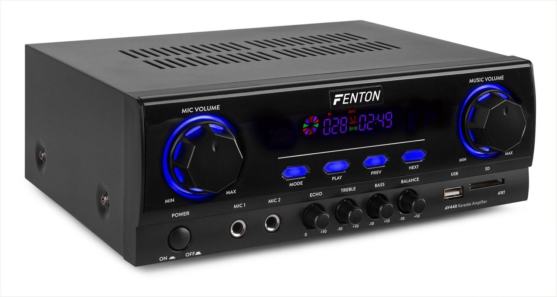 Fenton AV440 Karaoke karaoke förstärkareMultimedia spelare