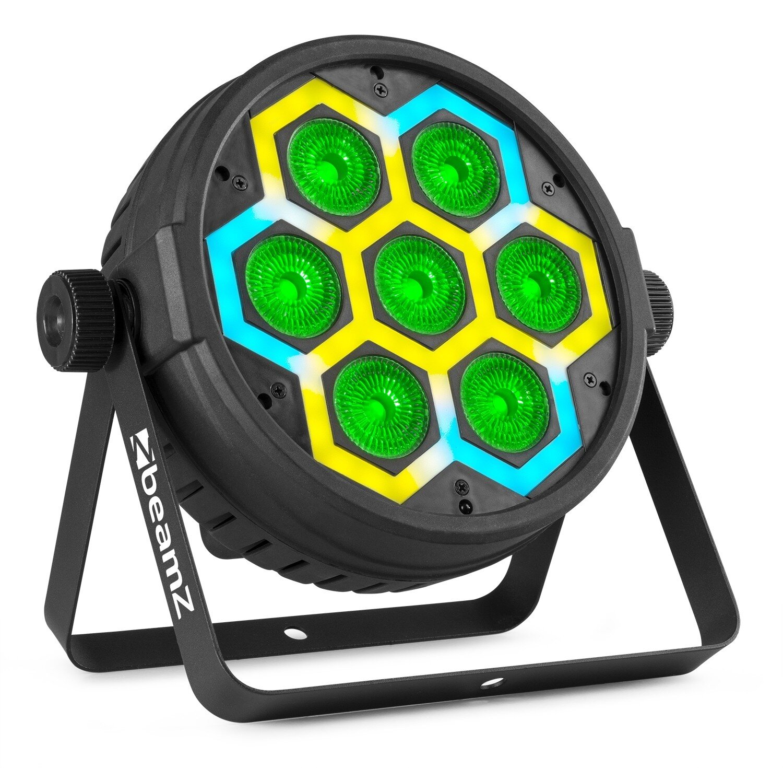 Beamz BT420 lättviktspar LED 7 X10W + SMD COMBI EFFECT