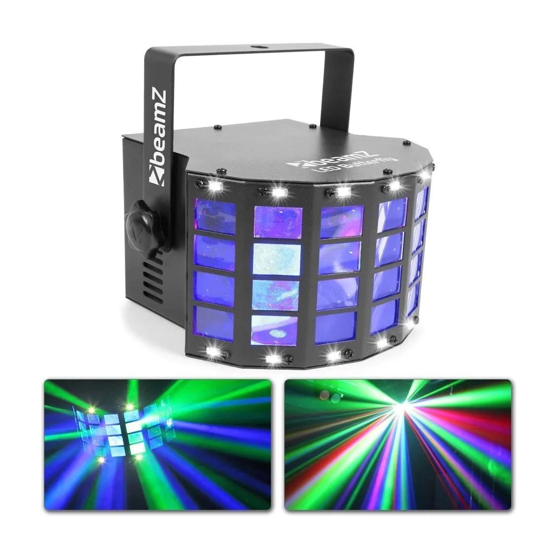 BeamZ LED Butterfly 3x3W RGB, SMD Strobe