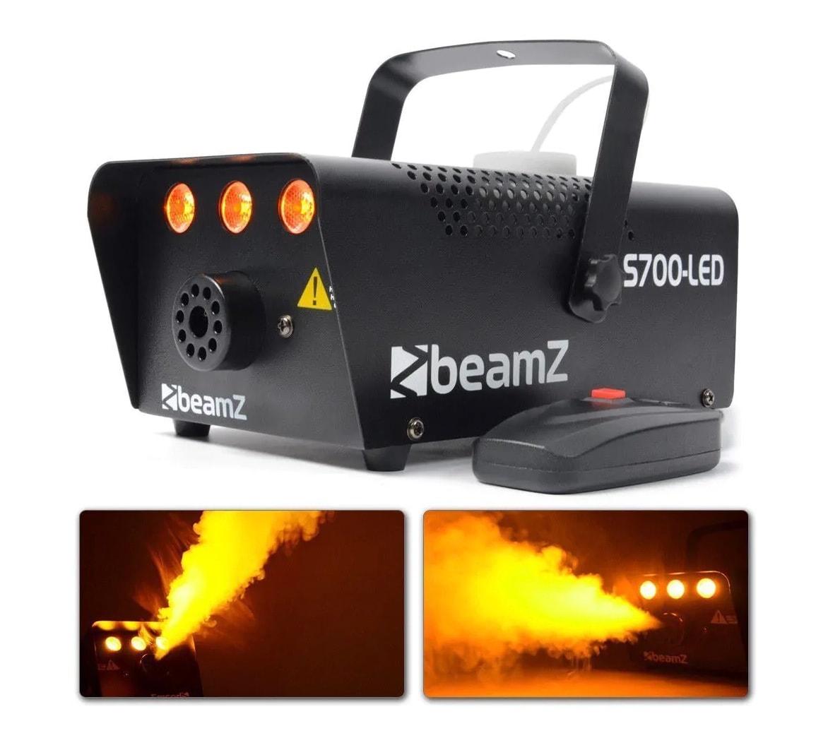 BeamZ S700-LED smokemachine +Flame effect