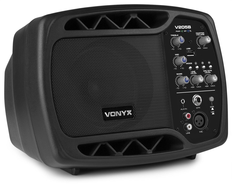 Vonyx V205B Personlig Monitor System, BT