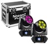 BeamZ Fuze610Z Wash LED 6x10W RGBW 2pc FC