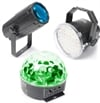 Beamz Light Package 1. Moon, strobo, Star