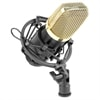 Vonyx Studio Cond. Microphone Black/Gold