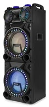 Fenton VS212 Act Speaker 2x12' BT, USB,LED