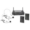 STWM712H 2-Channel VHF Wireless Headset Microphone System